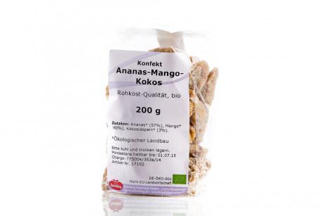 Konfekt Ananas-Mango-Kokos