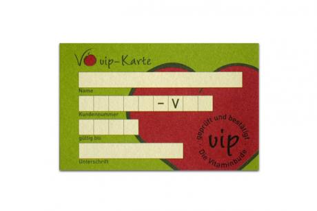vip-Karte 1. Jahr